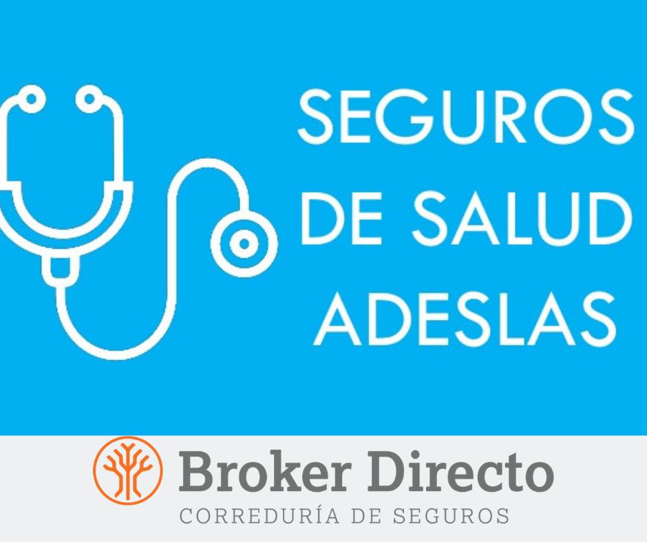 seguro salud adeslas correduria de seguros